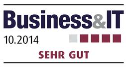 Award business 10 2014 sehr gut